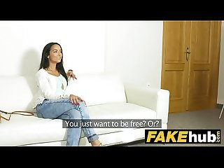 Fake agent brazilian milf sucks and fucks casting agent for job
