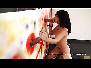 Latin teen shemale glory hole Adventure