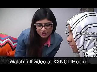 Mia khalifa and her sister sucking brother watch more at xxnclip period com