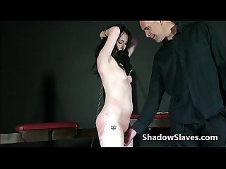 Faes breast whipping punishment and rough tit tortures of amateur bdsm slavegirl
