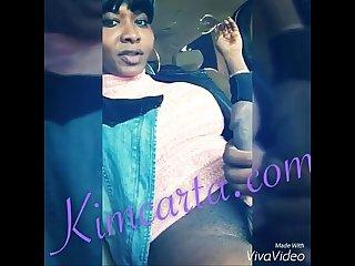 Kim carta handjob car bust