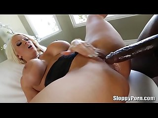 Busty MILF Alura Jenson fucked by Lexington Steele's BBC