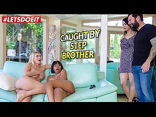 LETSDOEIT - Stepbro Gets Scamed (Natalia Starr And Jenna Foxx)