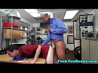 Casting straight anal drilled by black agent