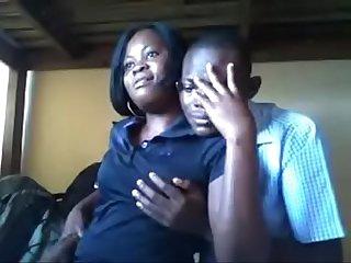 Couple D afrique centrale