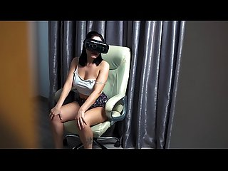 My brother in law caught when i masturbate in virtual reality and then fucked me to keep the secret