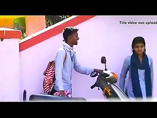 Indian school couple outdoor sex