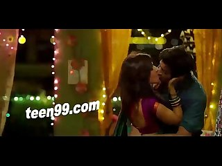 Teen99 com indian girl reha kissing her boyfriend koron too much in movie
