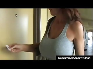 Horny Cougar Deauxma Hires Hot Girl Escort With A Big Dick!