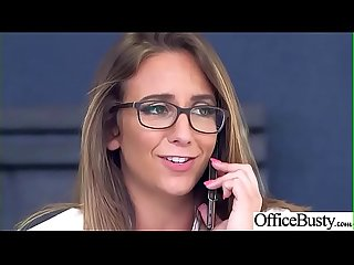 (Layla London) Hot Sexy Girl With Big Round Boobs In Sex Act In Office clip-19