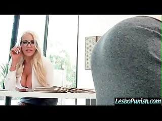 Lovely Lesbo Girls (Nicolette Shea & Piper Perri) Play With Sex Toys In Punish Act Scene..