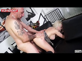 LETSDOEIT - Horny Italian Blonde Takes A Thick Cock In Ass At Casting