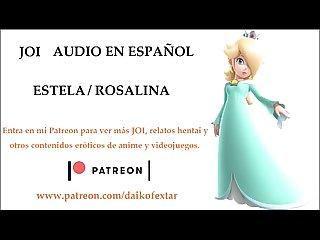 JOI Hentai de Estela / Rosalina. Audio en espa�ol.