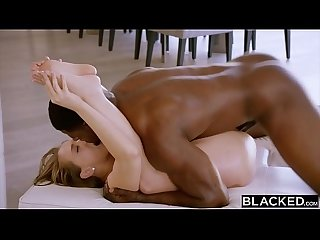 BLACKED Kagney Linn Karter loves to rim black men