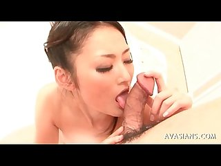 Asian Whore getting double teamed