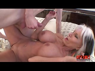 Young guy fills his granny with hard cock cums twice sally d angelo num taboo num Milf num kinky