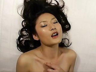 Asian female orgasm risa