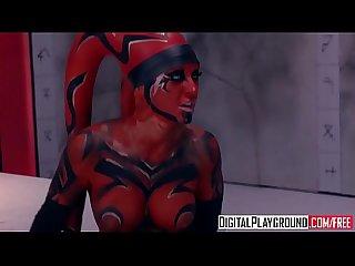 Digitalplayground star wars one sith Xxx parody kleio valentein