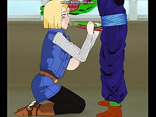 Android 18 dragon ball z hentai