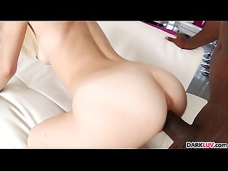 Petite Blonde Piper Perri Goes Black