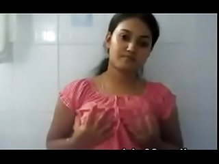 Indian medical college girl swathi showing her boobs on cam