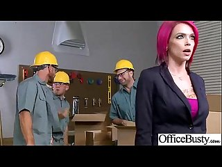 (anna bell peaks) Nasty Office Girl Like Hard Style Action Bang video-03