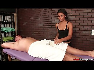 Teen professional handjob treatment