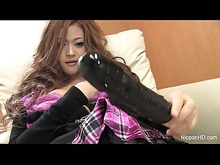 Japanese Teen Dildos Herself