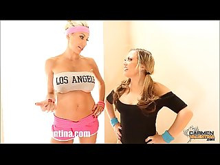 Carmen Valentina & Puma Swede's Slutty Work Out!