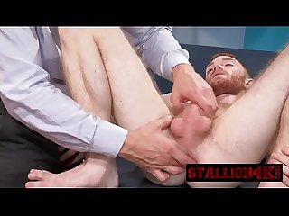 Redhead twink gets his anus banged