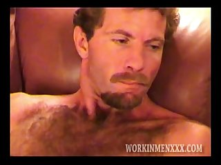 Handsome and Hairy Rick Jacking Off
