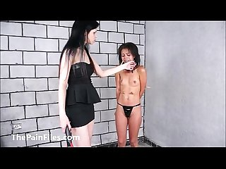 Brazilian slave pollys lesbian bdsm and electro of teen masochist