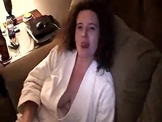 Big tits wife gets shared