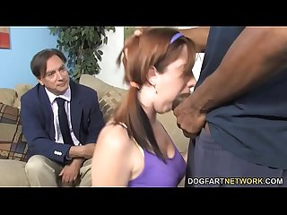 Daughter ivy rider gets tàn phá by big black dick