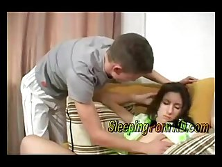 Cute drank sleeping girl was fucked by her boyfriend www sleepingpornhd com