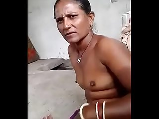 Desi Randi handjob old client cock with clear audio