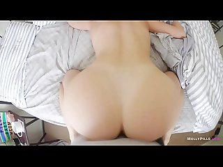 Hot Coffee and Hard Sex Breakfast From Perfect Girlfriend - Molly Pills - Horny Young Nympho Wakes..