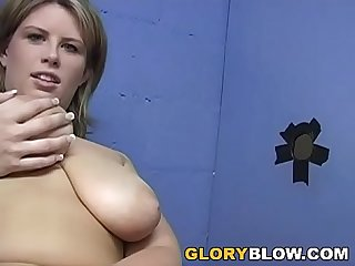 Busty MILF Lisa Sparxxx has finally made her debut in the gloryhole.
