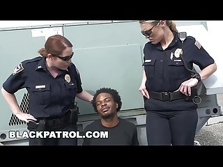 BLACK PATROL - Thug Runs From Cops, Gets Caught: My Dick Is Up, Don't Shoot!