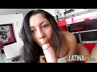 Young Latina Fuck by white Amateur star