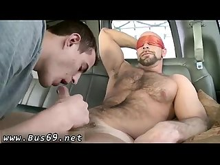 Teen Twink Hitchhiker sex the big guy on baitbus