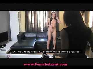 Femaleagent stunning sexy and Mine