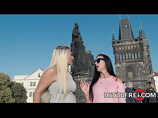 HITZEFREI Thick German blonde Tatjana Young fucks a stranger