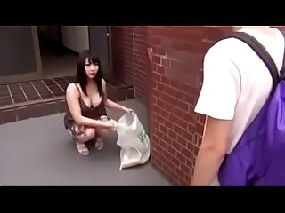 Japanese asian mom loves to fuck with son