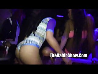Harlem knights strip club with lil scrappy making it rain 15k on these stripper