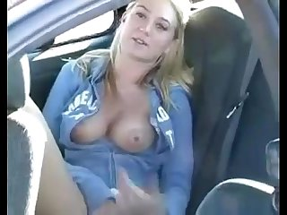 public masturbation in the car