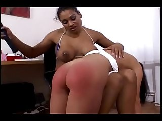 Spanked by ebony mistress - Ayacum.com