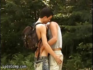A young hiker too tempting to avoid getting fucked