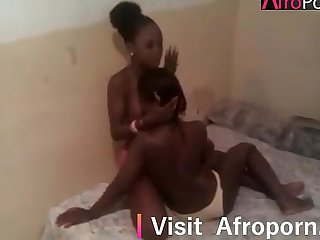 2 sexy nigerian girls going wild