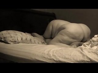 Bbw riding her man S big black cock good